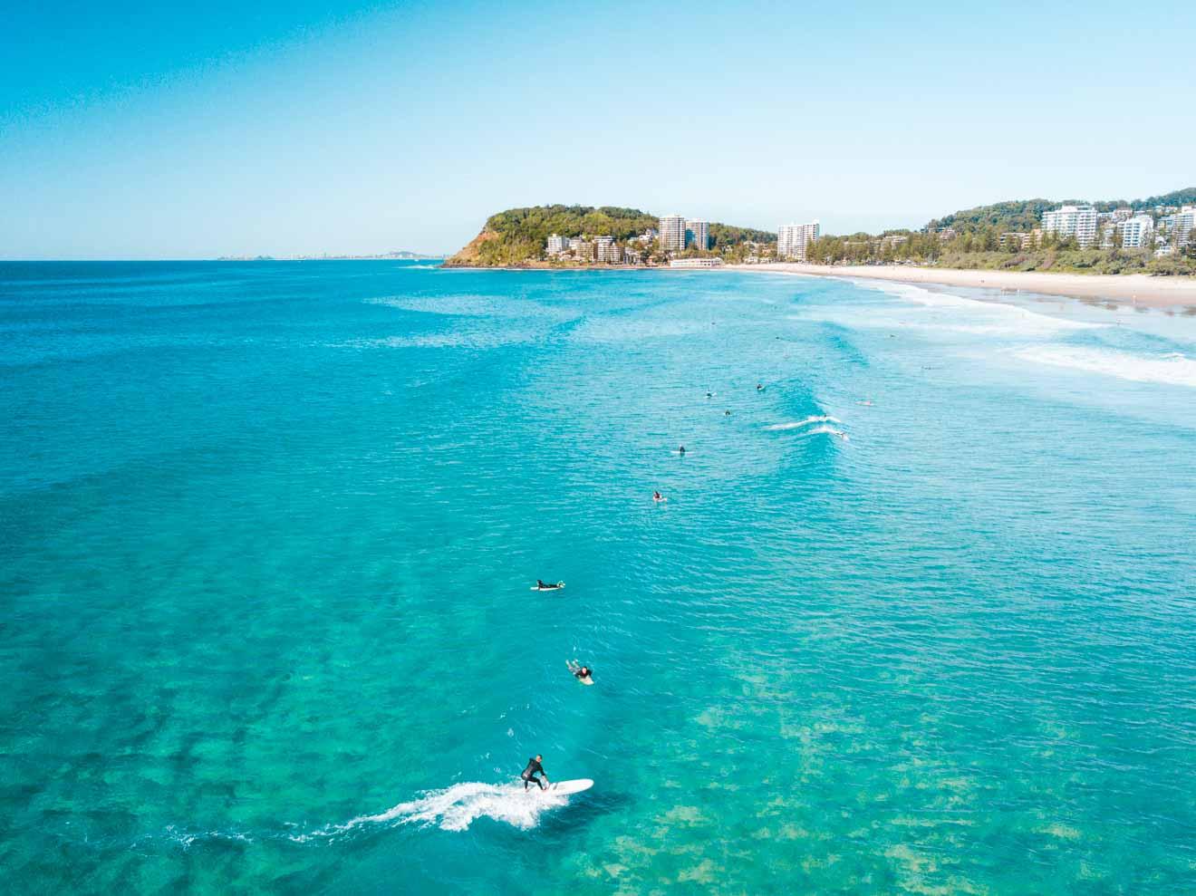 North Burleigh Cosas que hacer en Gold Coast Surfer Paradise