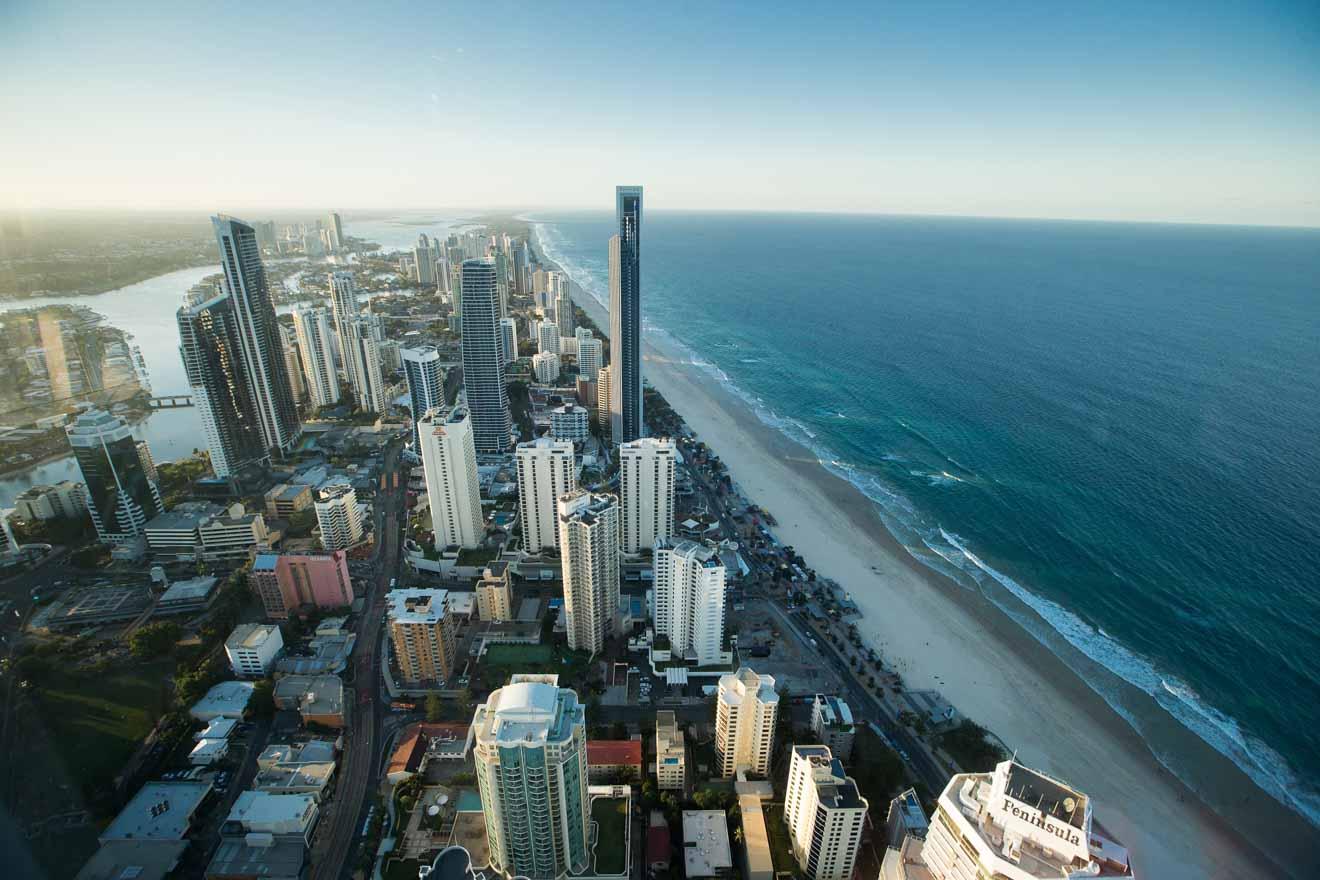 Rascacielos Cosas que hacer en Gold Coast, Brisbane, Australia