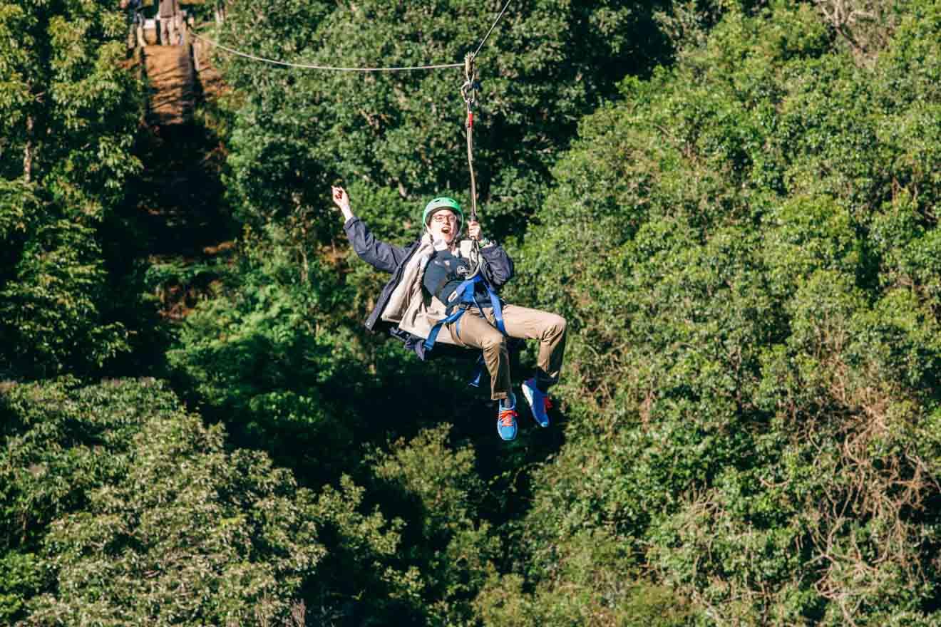 Parque de cuerdas Cosas que hacer en Gold Coast este fin de semana