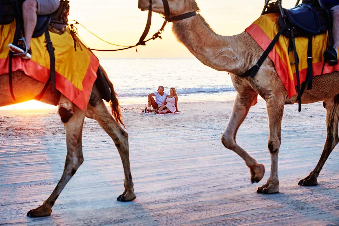 Broel Cable Beach Actividades románticas en Broome