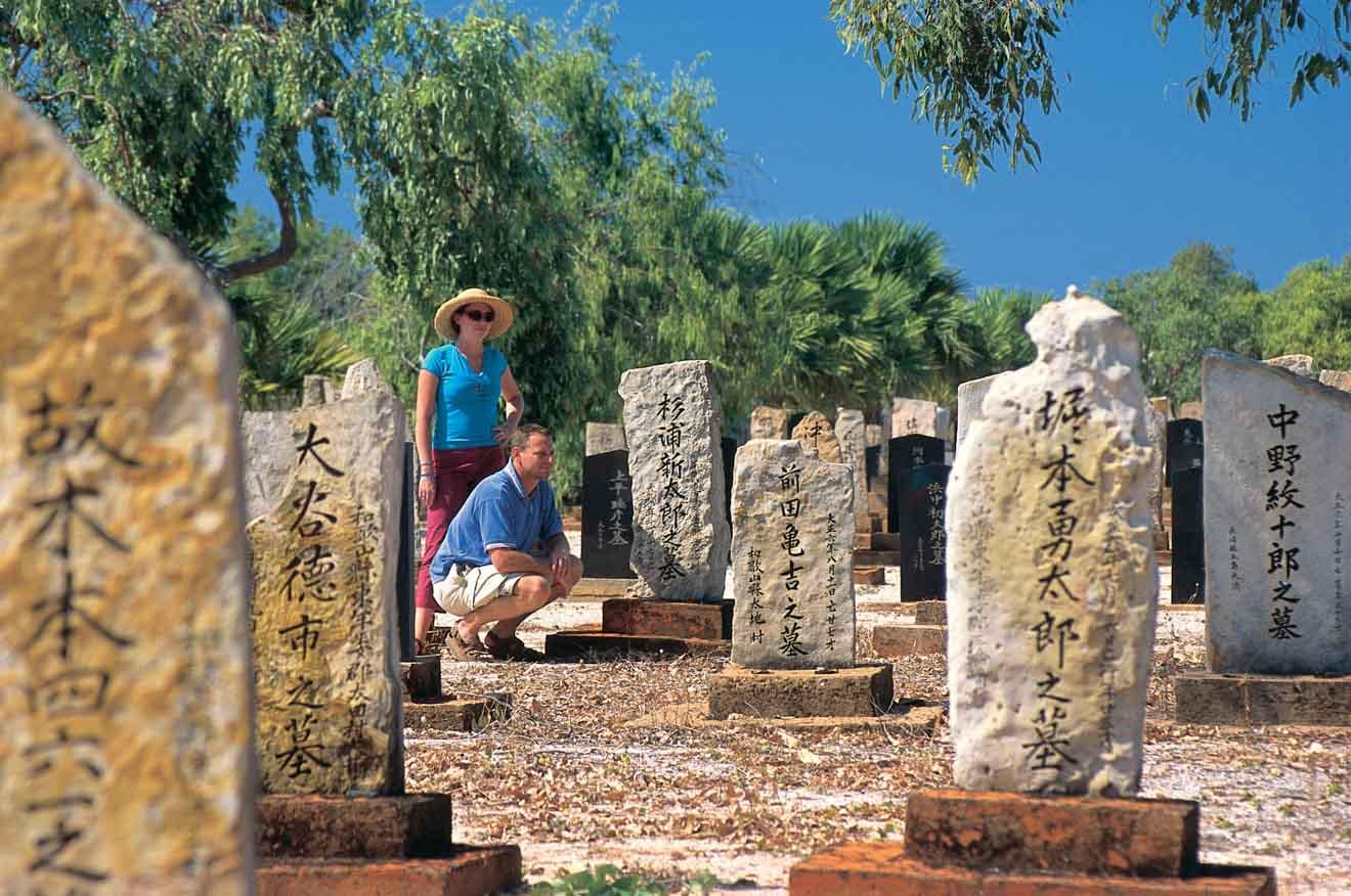 mejores sitios turísticos - Las actividades del cementerio japonés en Broome