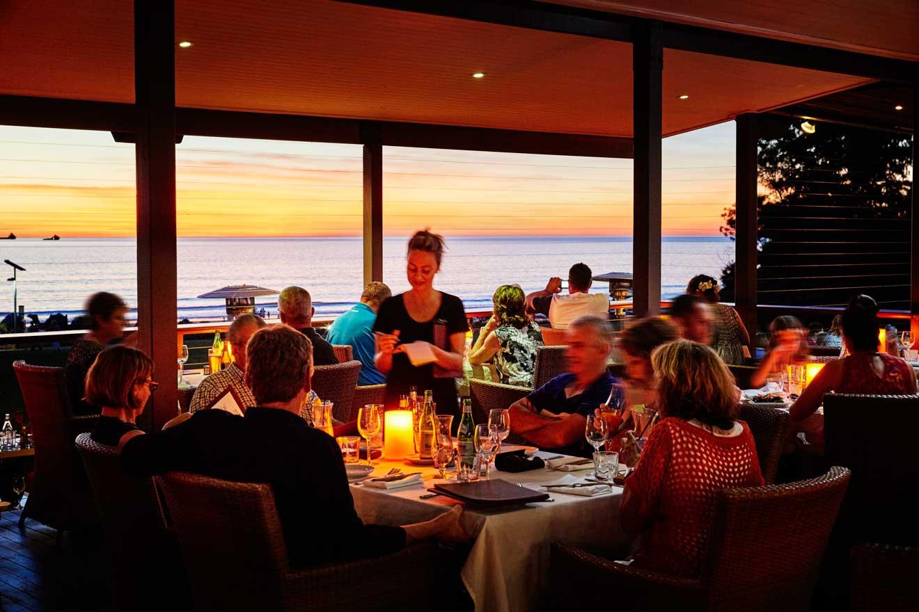 dónde comer restaurante Actividades en Broome