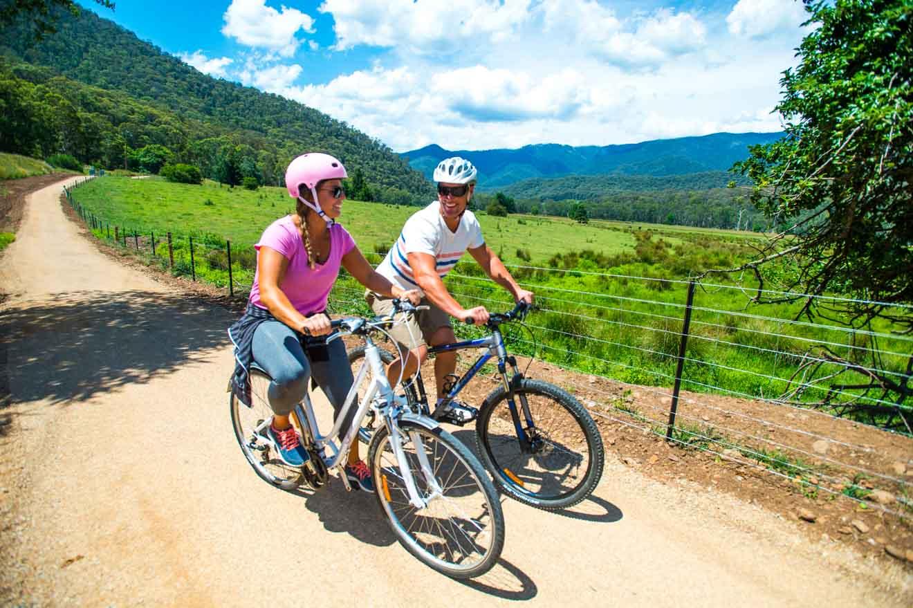 punto de acceso turístico Murray to Mountains Rail Trail cosas que hacer en ballarat
