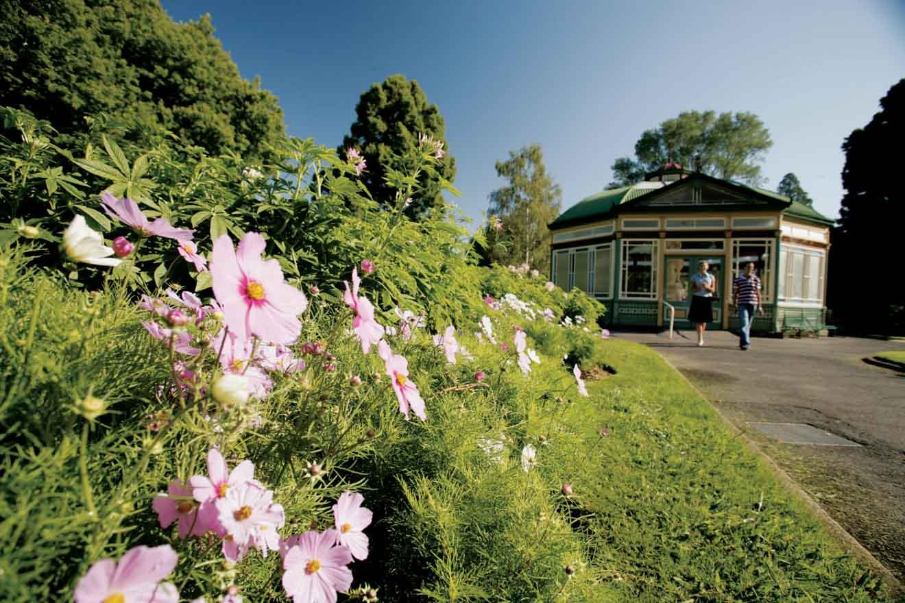 Jardines botánicos para hacer en Ballarat Melbourne