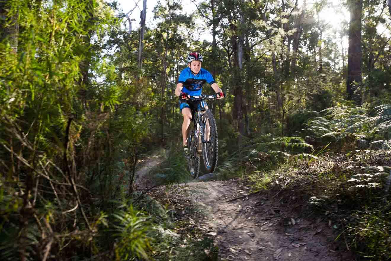 Cosas que hacer en bicicletas de montaña en Ballarat Melbourne Victoria Australia