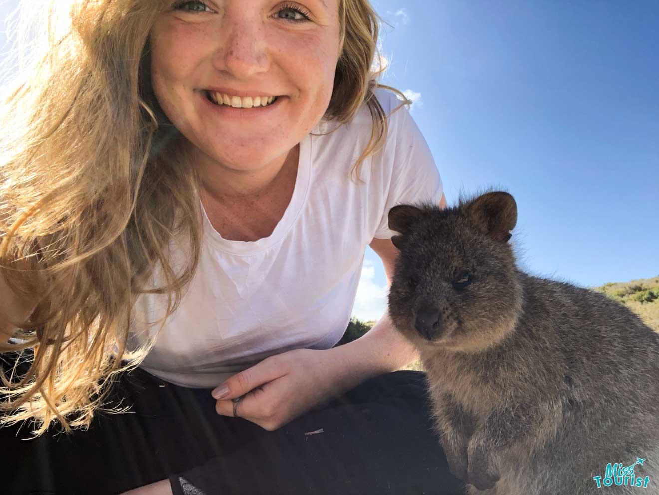 cosas que hacer foto con animales Australia Occidental viaje por carretera
