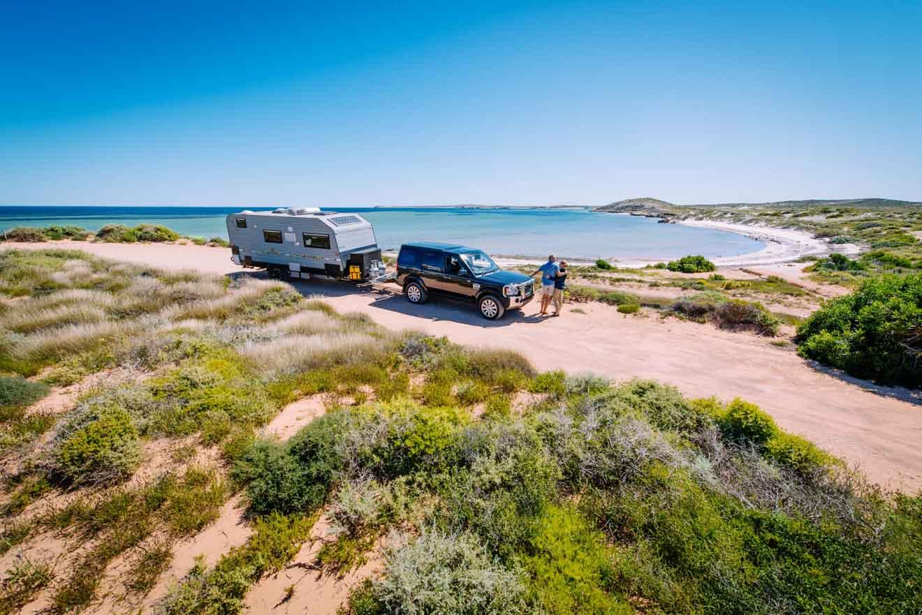 Cosas para hacer en familia en el campamento de Whalebone Bay Australia Occidental