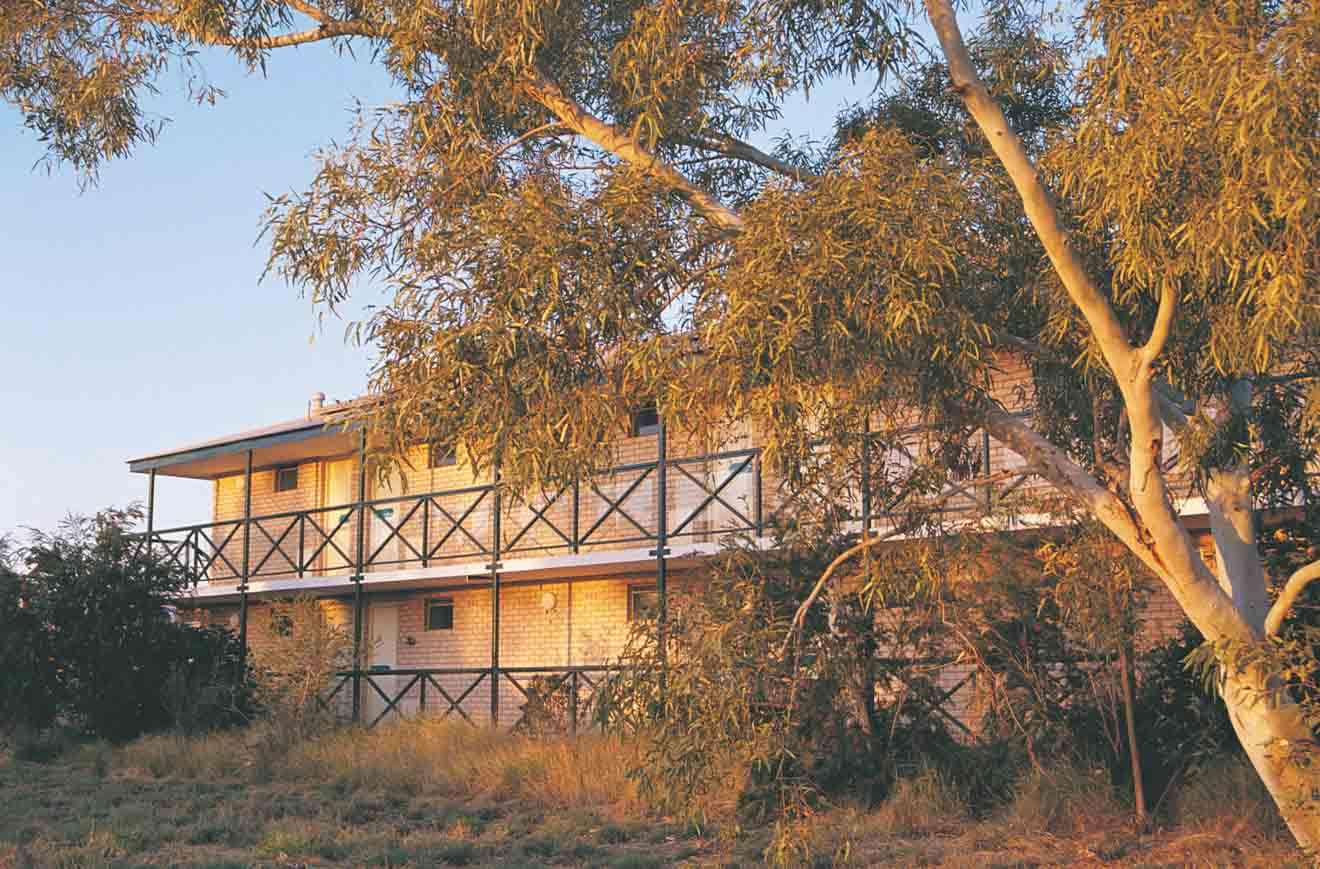 Hotel Western Australia Viaje por carretera alojamiento y lugares de descanso
