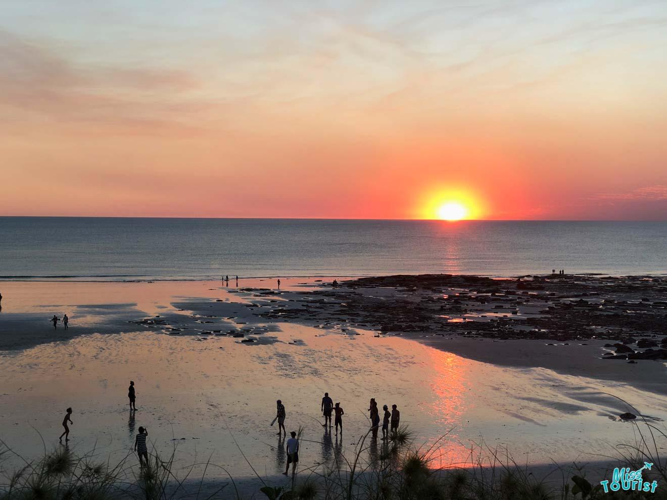 2 semanas de puesta de sol en Australia occidental