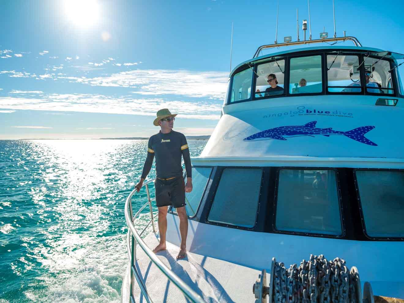 Excursión al arrecife de Ningaloo en el parque marino Whale Shark