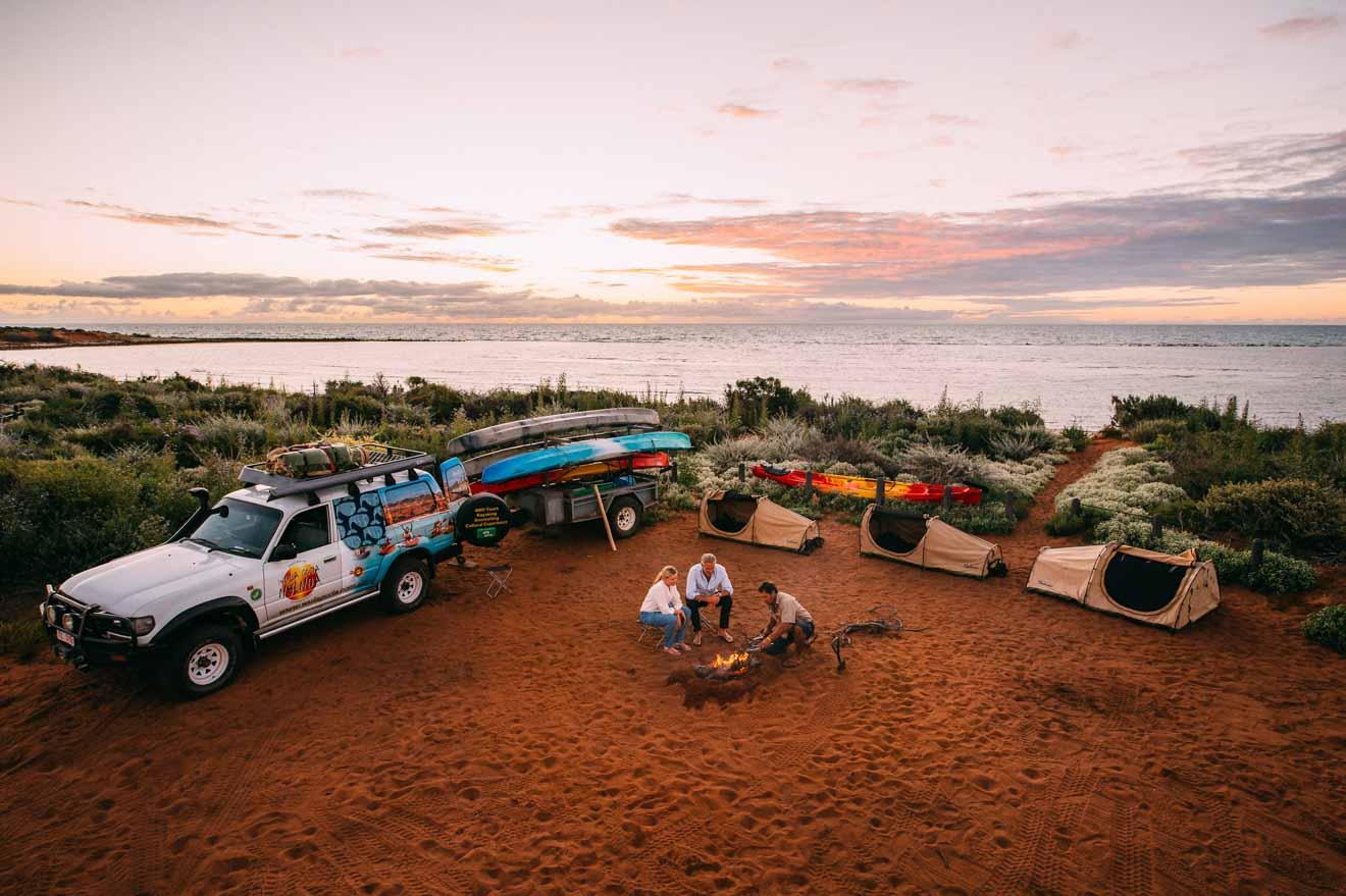 Parque Nacional camping Cosas para hacer en Shark Bay, Australia Occidental