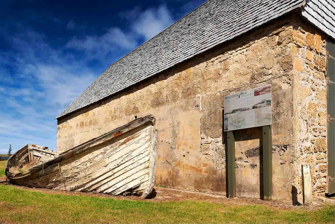 Kingston condena las ruinas históricas de la isla de Norfolk