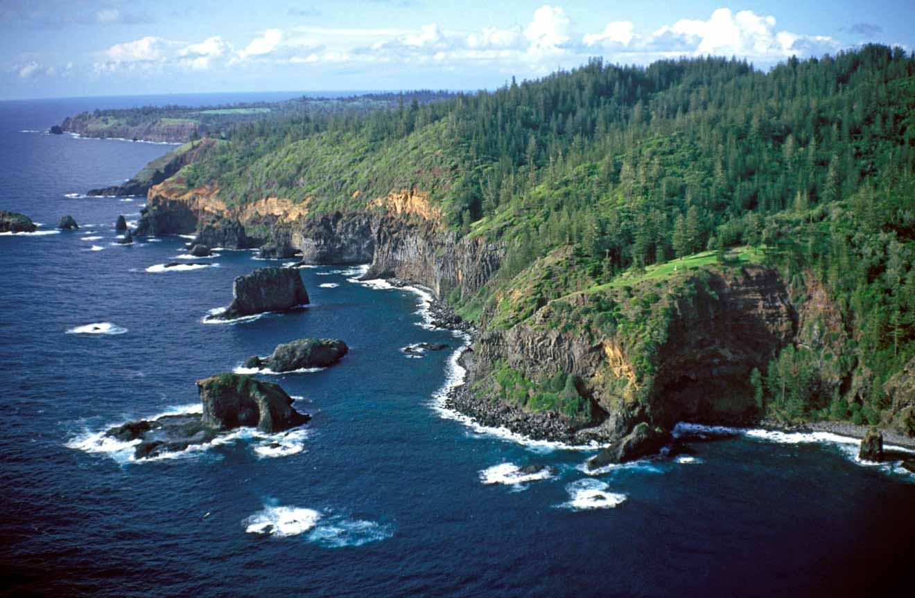 cómo llegar a Isla Norfolk