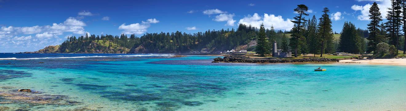 cómo llegar a Emily Bay Lagoon Norfolk island