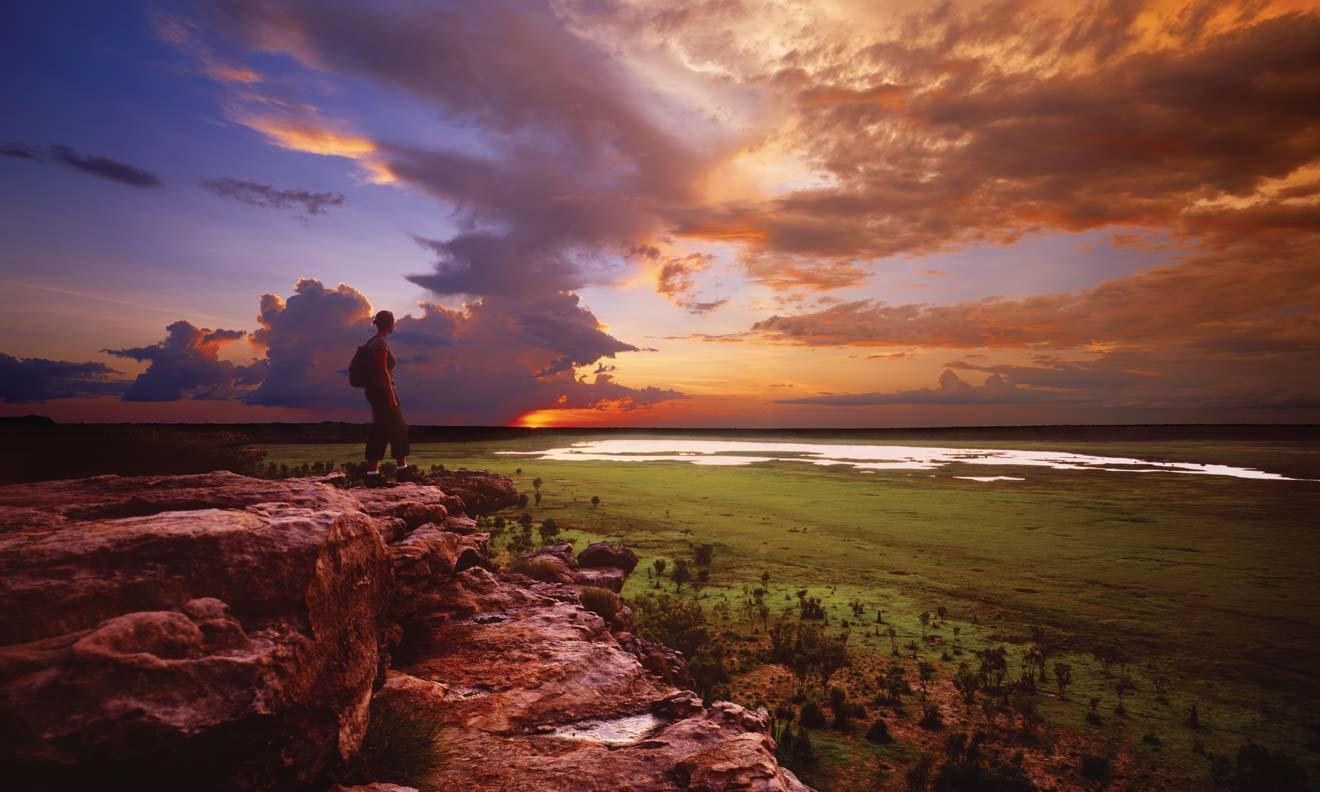 Inspiring Sunset Ubirr Qué hacer en Kakadu y el Parque Nacional Litchfield