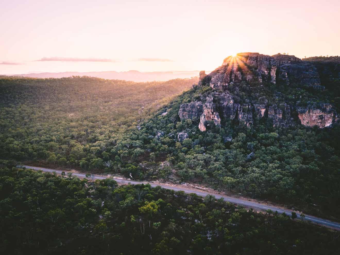 bonitas vistas de cosas que hacer en la ruta de Kakadu