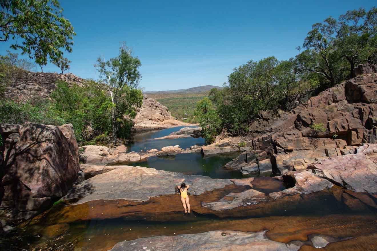 Gunlom Falls Cosas que hacer en Kakadu, en el Territorio del Norte de Australia