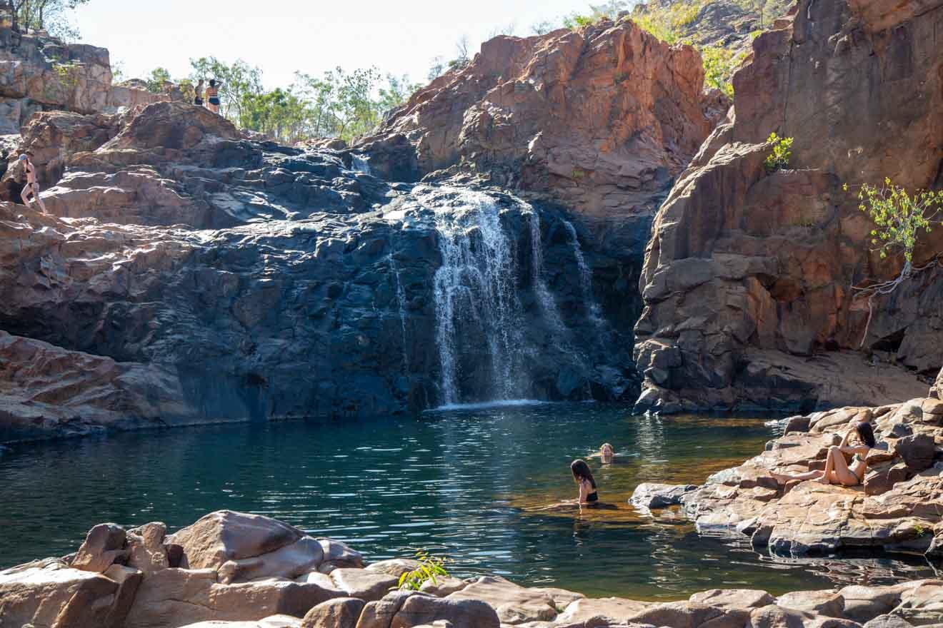 Cascada Darwin en Alice Springs, Territorio del Norte, Australia