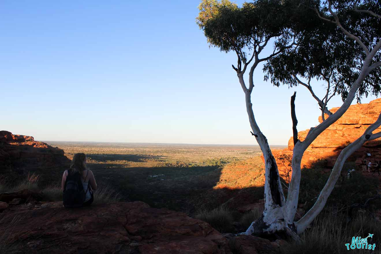 Montaña Darwin en Alice Springs en uluru