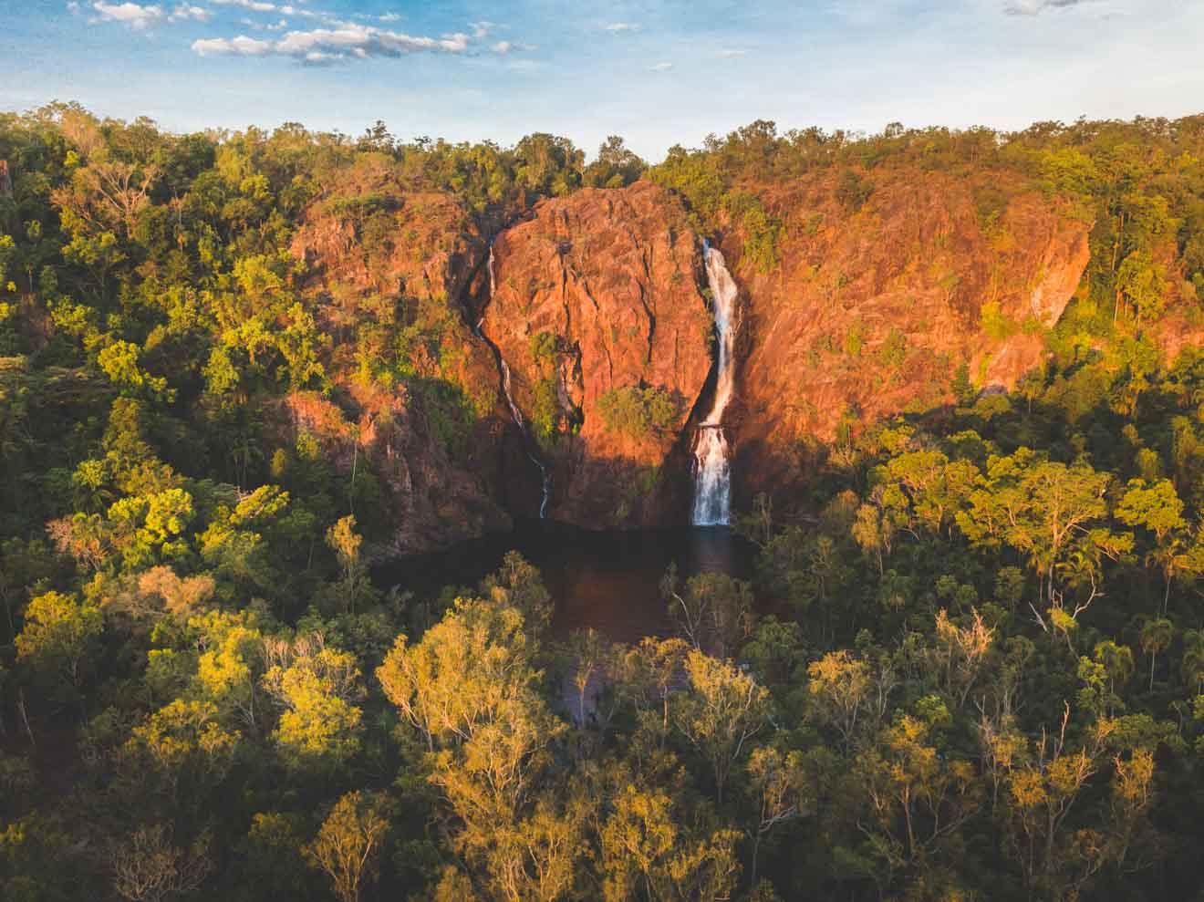 Excursiones de un día a las cataratas Wangi desde Darwin