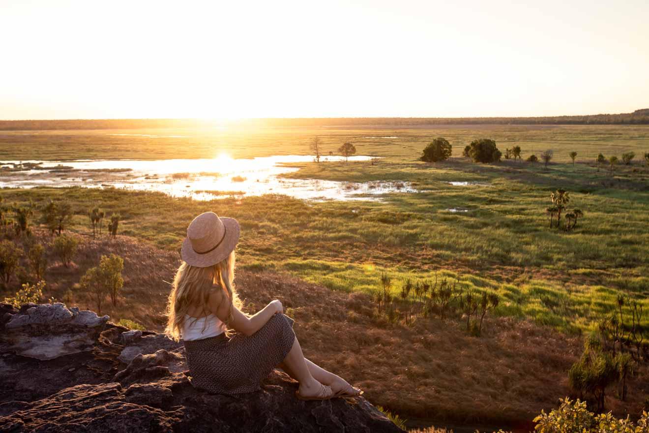 Atardecer en Ubirr Cosas que hacer en el Parque Nacional Kakadu