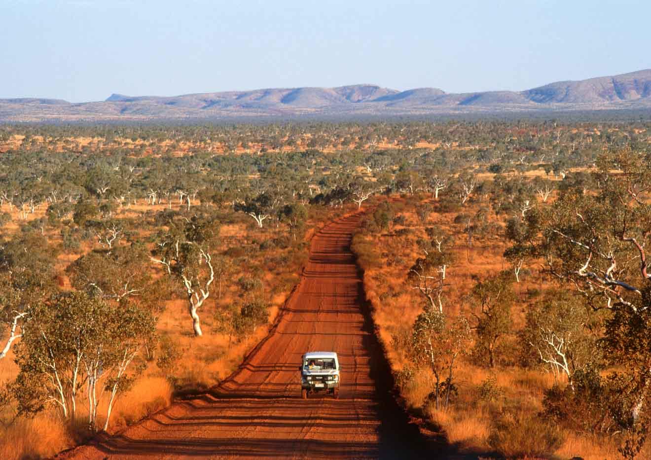 Conduce Darwin a Alice Springs a Mataranka