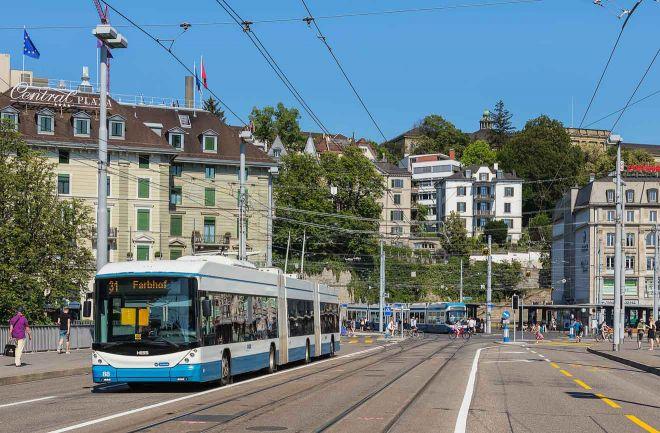 Autobús público de Zurich