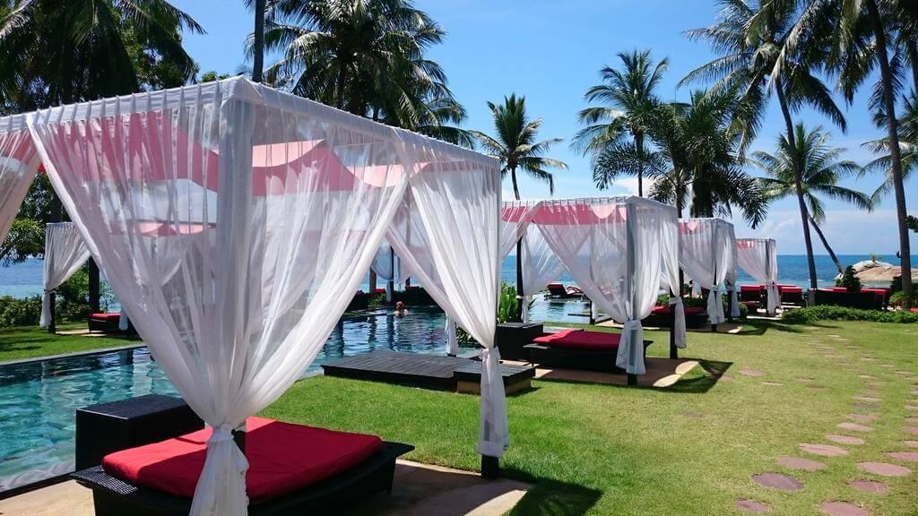 1 Kupu Kupu Phangan Beach Villas & Spa de L & # 39; Occitane