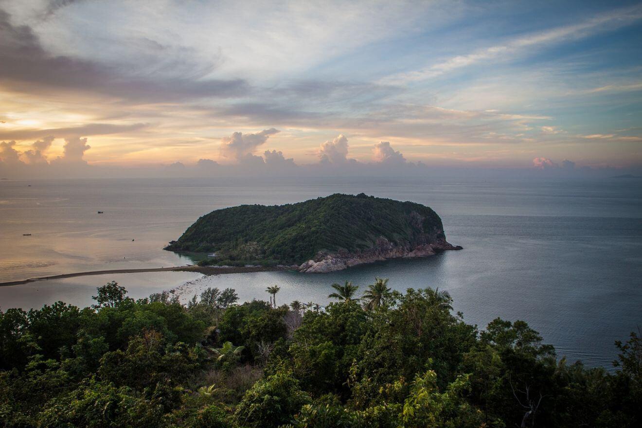 Alojamiento en Koh Phangan en Tailandia