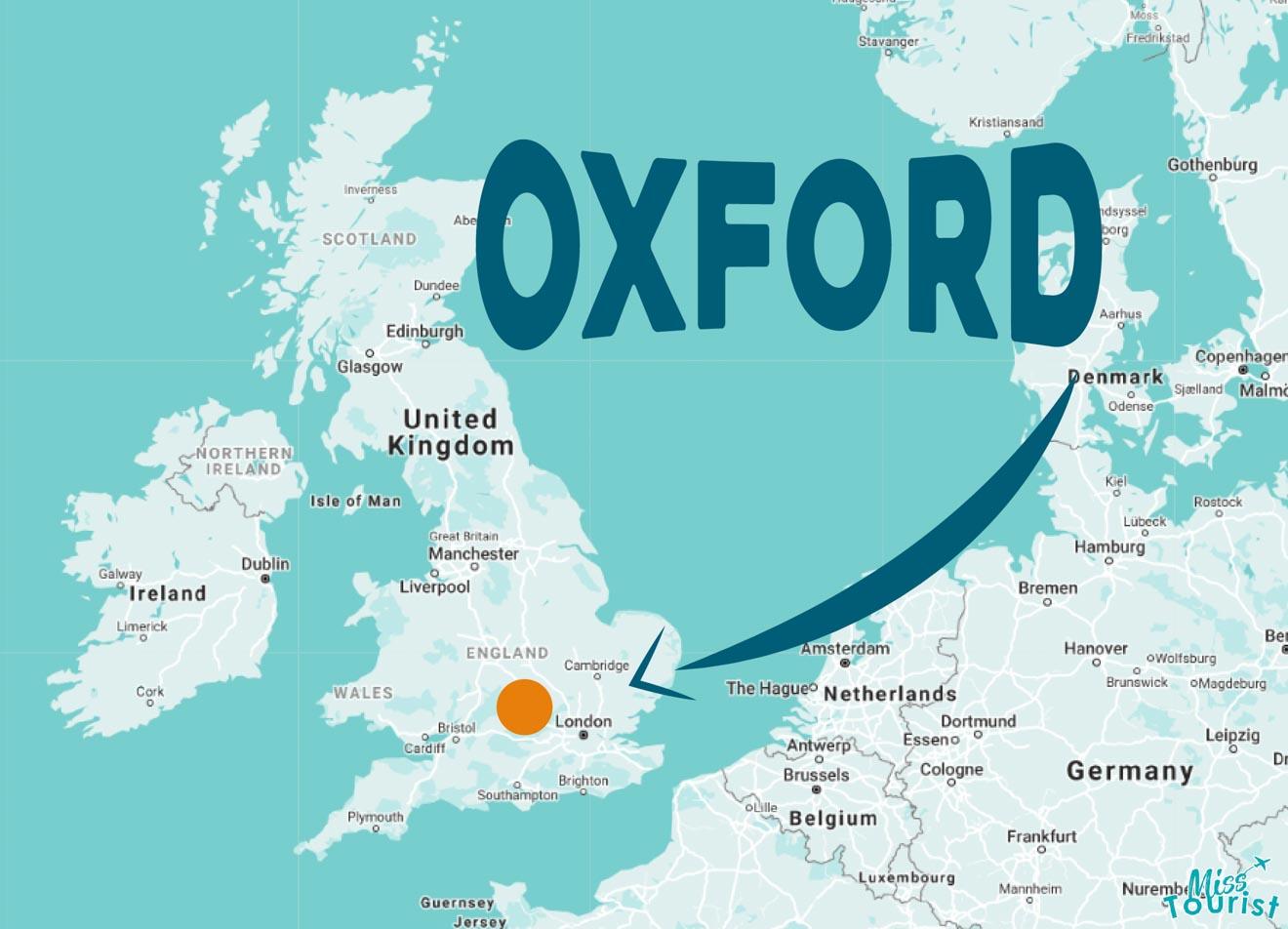 donde esta oxford