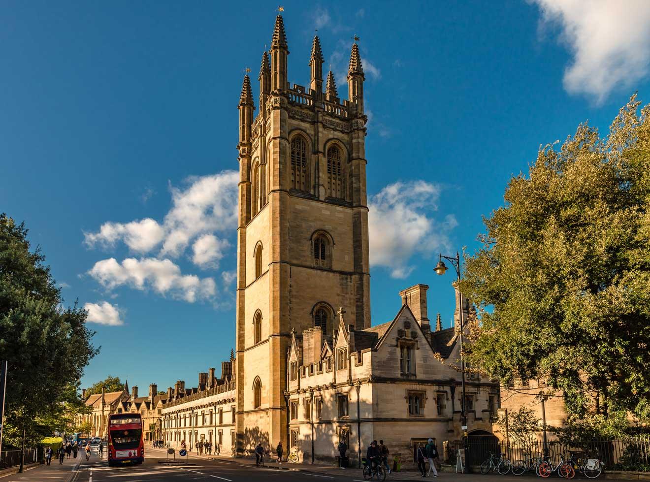 11 cosas que hacer en Oxford Magdalen College