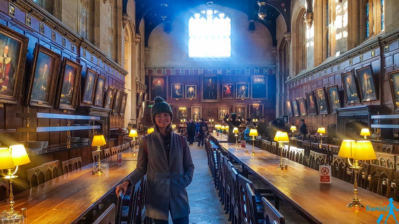 11 cosas que hacer en Oxford Great Hall Christ Church 2