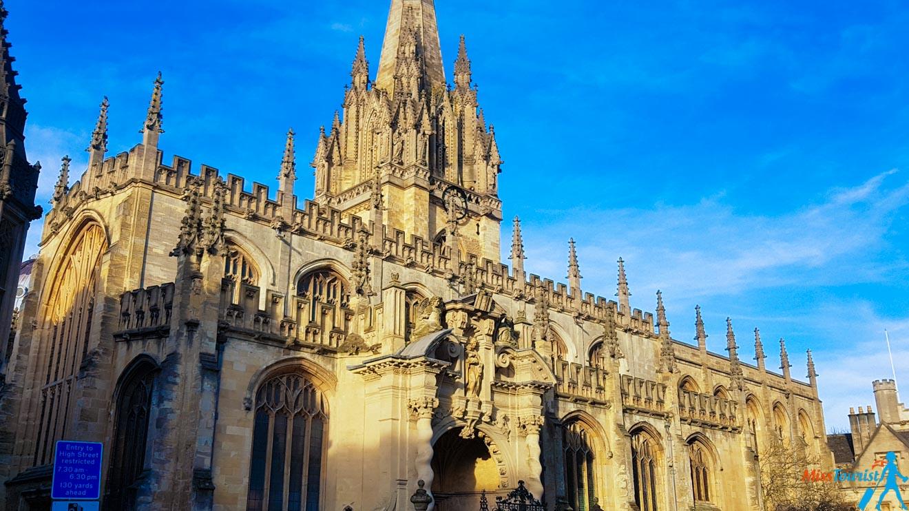 11 cosas que hacer en la Iglesia de Santa María la Virgen de la Universidad de Oxford