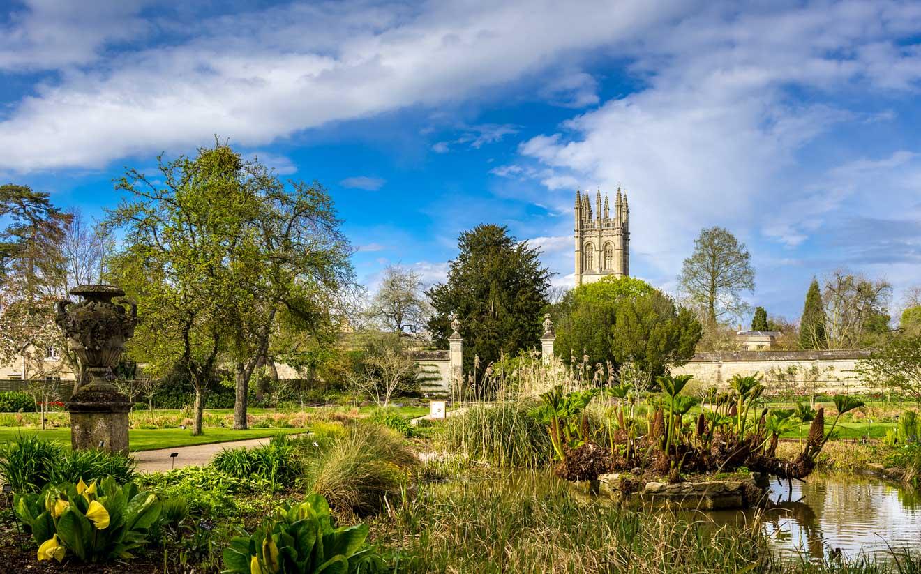 11 cosas que hacer en Oxford Oxford Botanic Garden