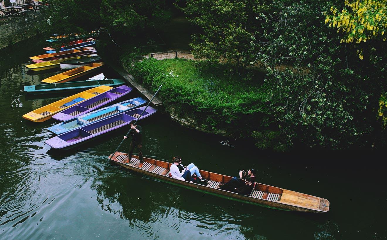 11 cosas que hacer en Oxford Punting 2