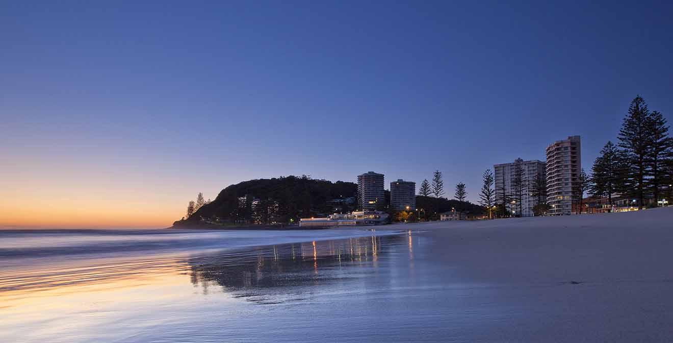 6 Coolangatta donde alojarse en Gold Coast para familias