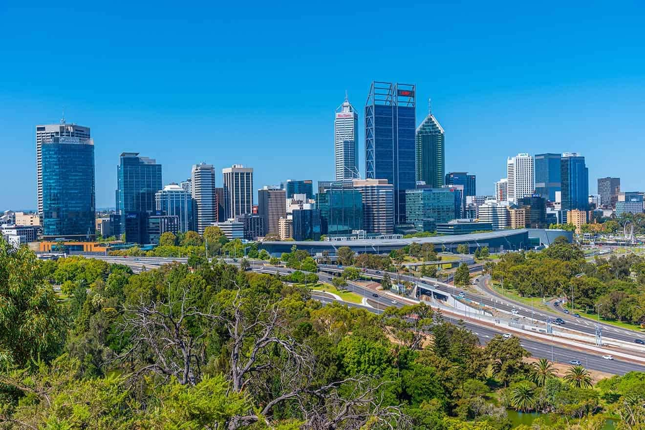 1 Perth CBD Mejores vecindarios