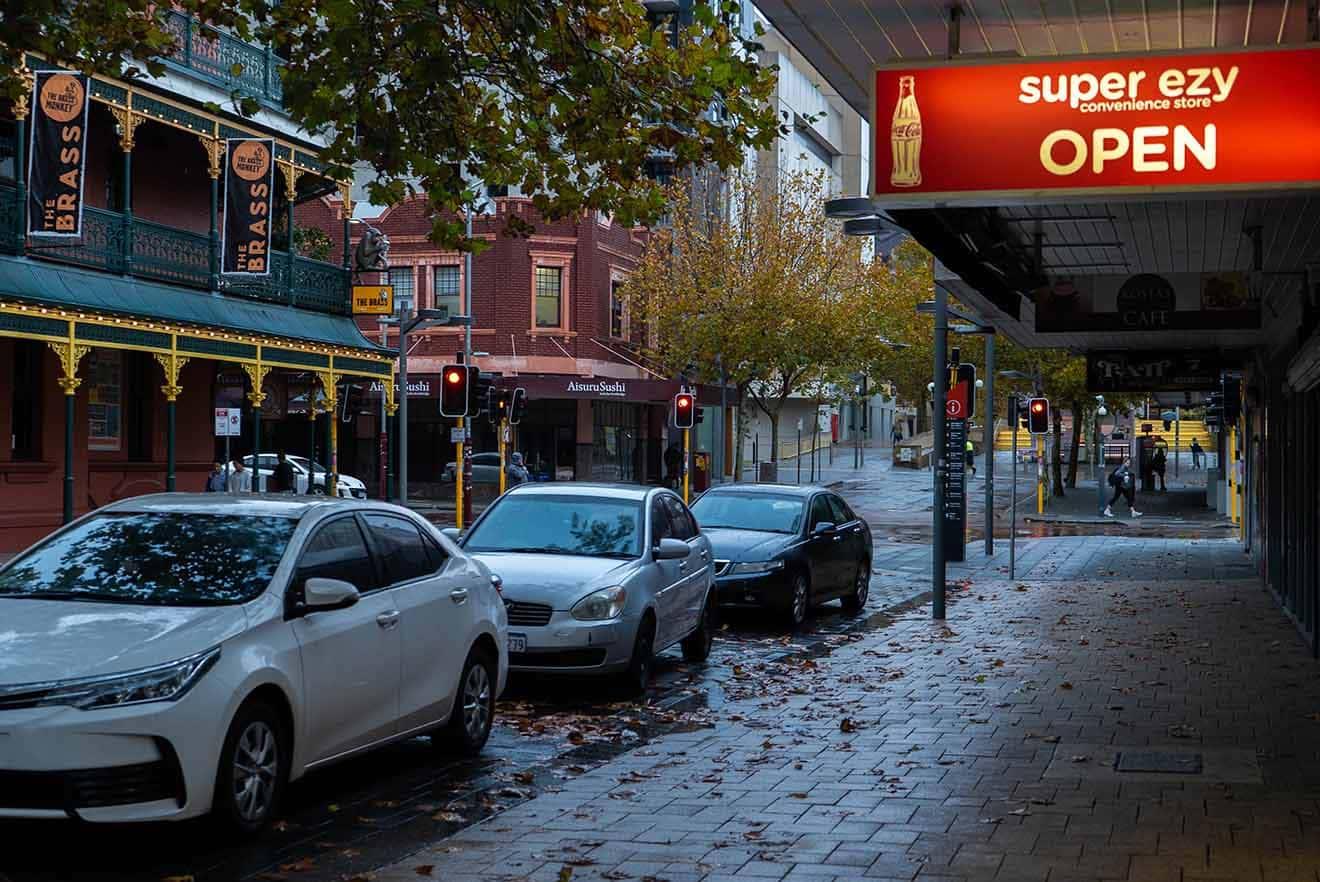 5 alojamientos de Northbridge en Perth para amantes de la comida